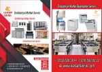 Kar-Ser Teknik Sanayi Tipi Endüstriyel Mutfak Servisi